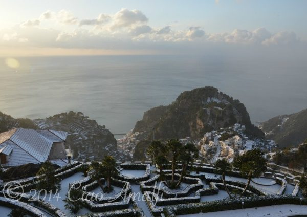 Amalfi Coast Travel Snow December 2014