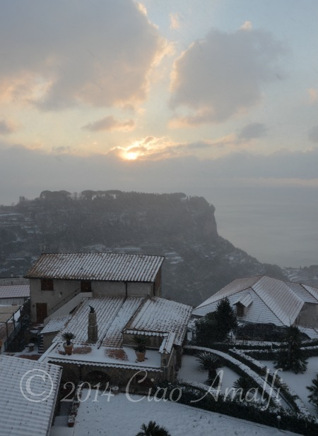 Amalfi Coast Travel Snow Ravello