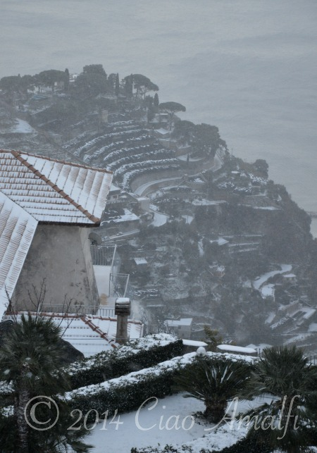 Amalfi Coast Travel Snow Road