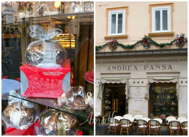 Ciao Amalfi Coast Travel Pasticceria Pansa Christmas Panettone