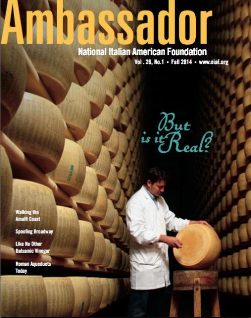 NIAF Ambassador Magazine Fall 2014