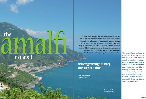 NIAF Ambassador Magazine The Amalfi Coast