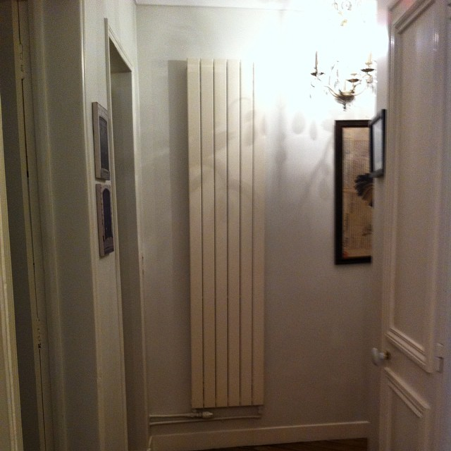 This radiator is bigger than me. I want to hug it and squeeze it and take it home to Italy with me. (And maybe call it George, too.) I miss being warm inside, which is nearly impossible in our old house during the chilly, humid Amalfi Coast winters. I may never go home again...until Spring that is! Haha!