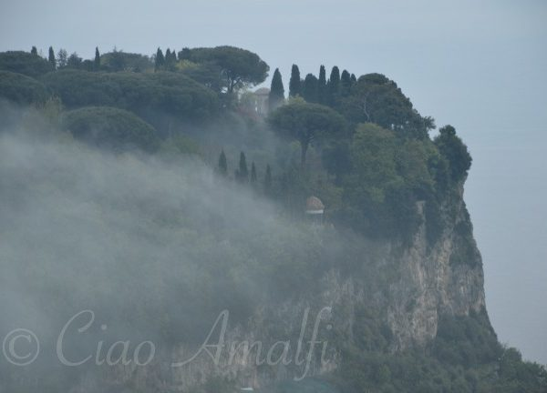 Amalfi Coast Travel Winter Mist Ravello