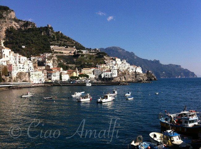 Amalfi Coast Travel Winter Harbor