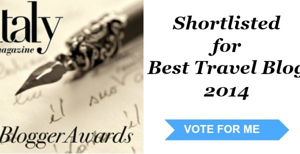 Italy Magazine Blogger Awards | Ciao Amalfi Nominated as Best Travel Blog!