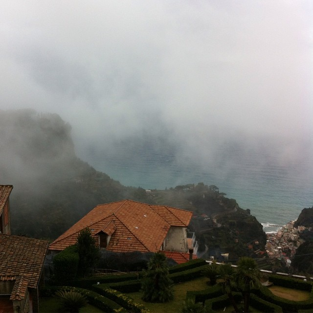 Today we've got our heads in the clouds...quite literally! #amalficoast
