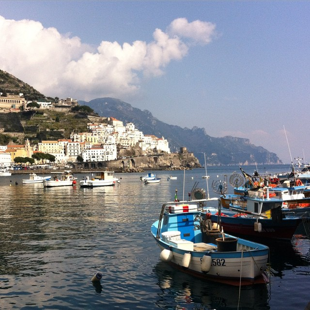 Oh Amalfi you make my heart happy! #amalficoast #amalfi #spring