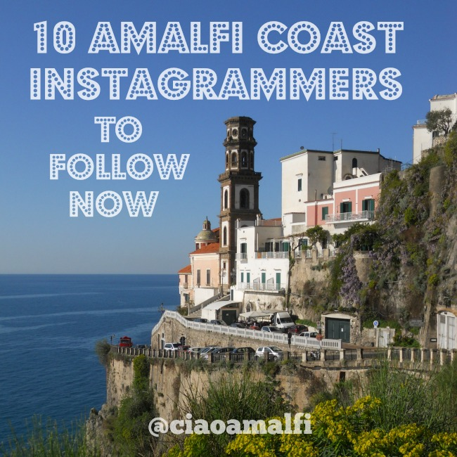 10 Amalfi Coast Instagrammers to Follow