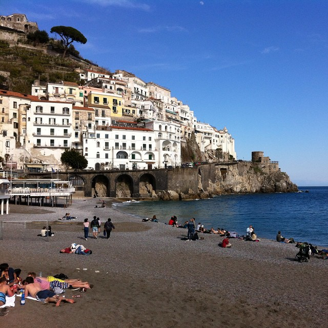 Sunday afternoons like this really do say winter is over. #amalfi #amalficoast #nofilter