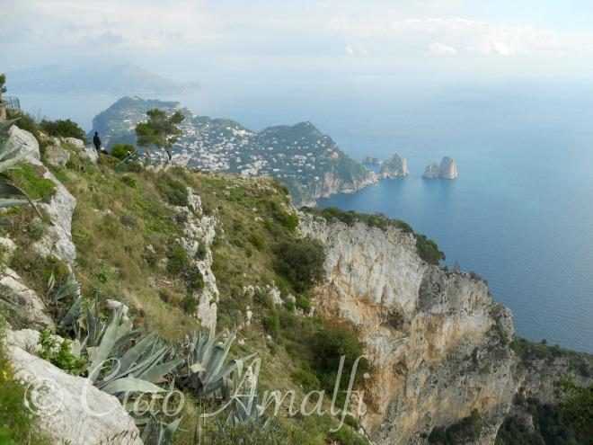 Amalfi Coast Travel Capri Monte Solaro View