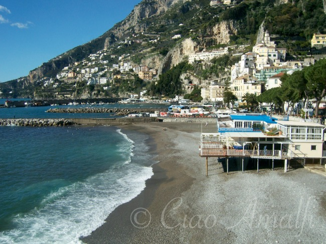First Photo of Amalfi