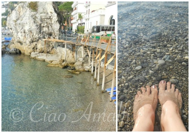 Amalfi Coast Beaches La Marinella