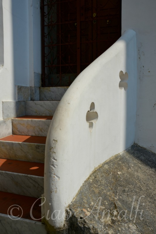 Amalfi Coast Travel Entrance Steps