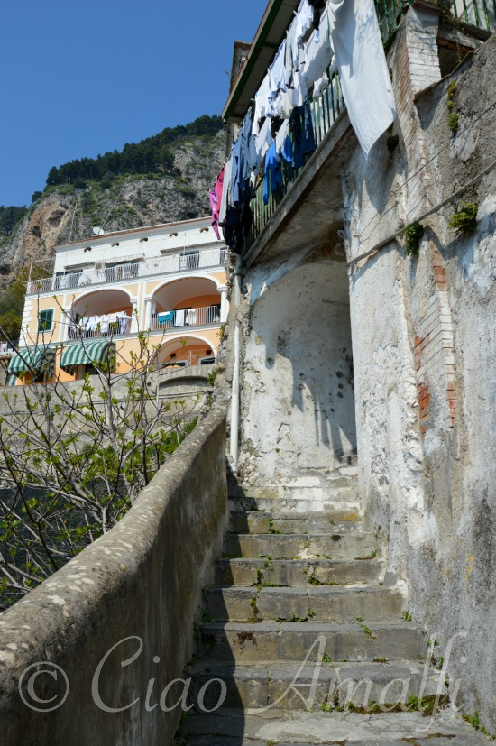 Amalfi Coast Travel Steps and Walking in Amalfi