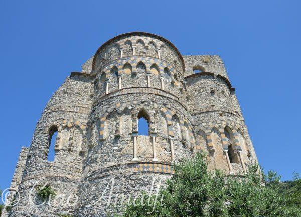 Amalfi Coast Travel Basilca Sant Eustachio Ruins
