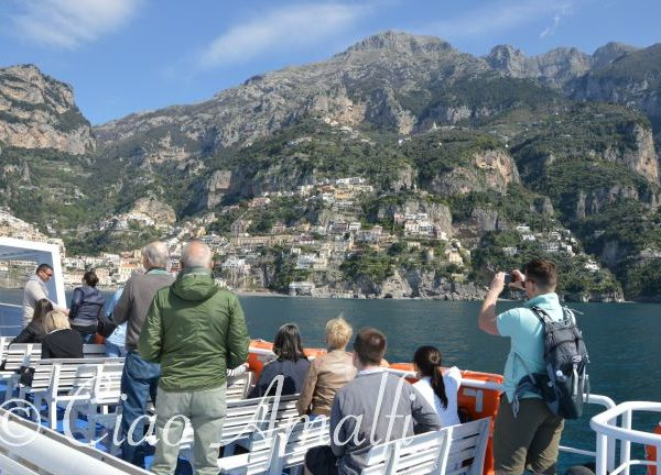 Amalfi Coast Travel Ferry Sorrento Positano