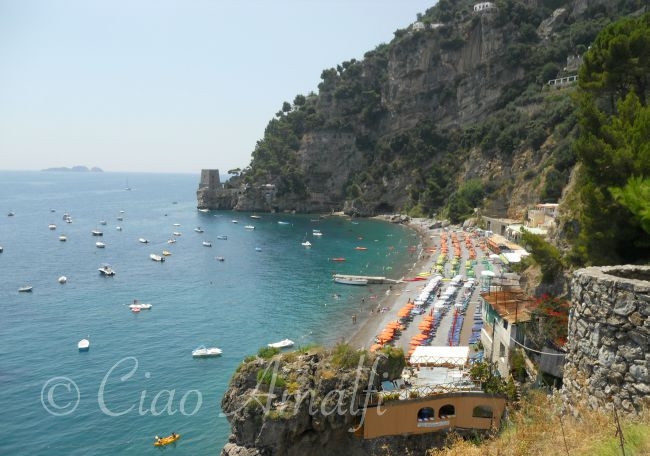 Amalfi Coast Travel Positano Beach Fornillo