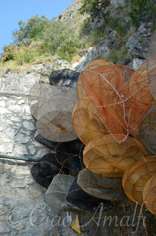Amalfi Coast Travel Praia Fishing Nets