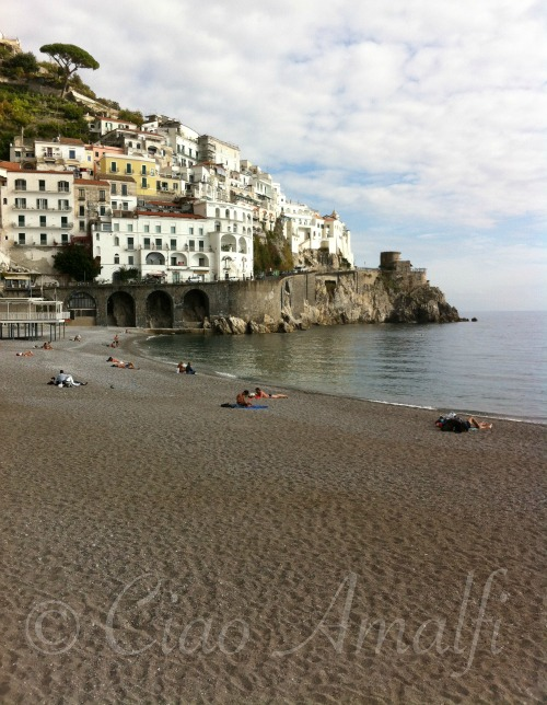Amalfi Coast Travel November Beach