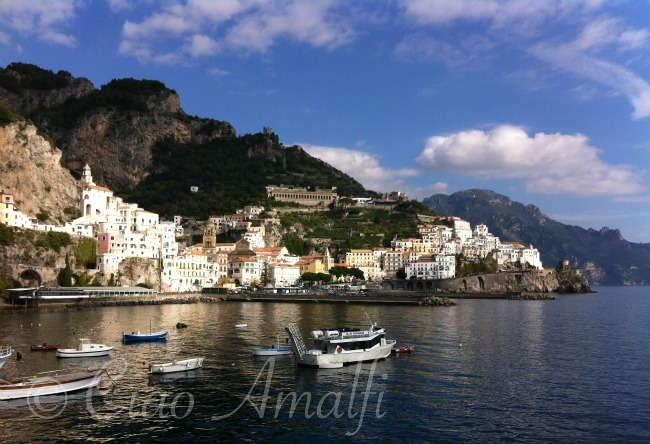 Amalfi Coast Travel Welcome Home