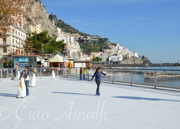 Ice Skating in Amalfi