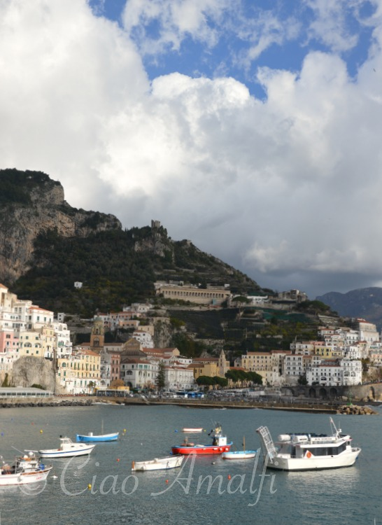 Amalfi Coast Travel Winter Weather Clouds