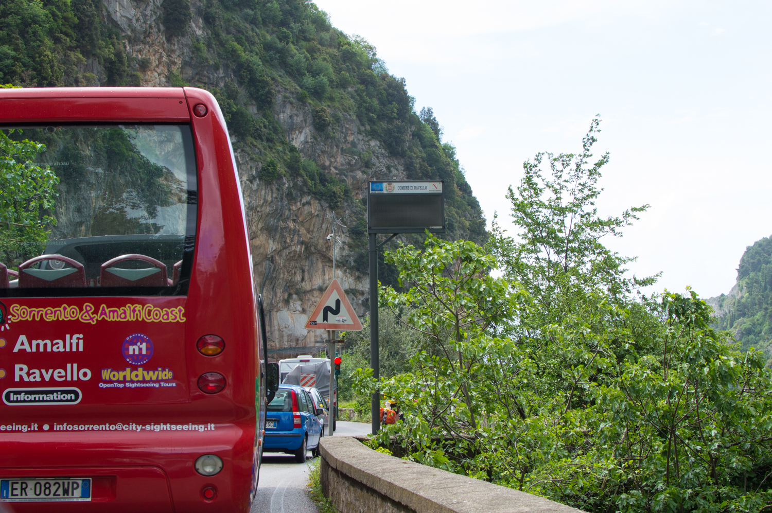 City Sightseeing Bus Amalfi Coast