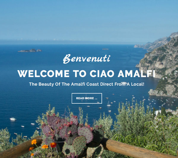Welcome to the New Ciao Amalfi!
