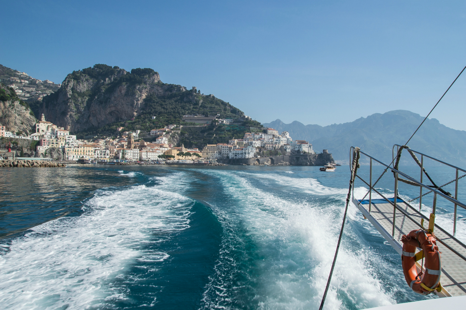 Amalfi Ferry - Amalfi Coast in the Spring