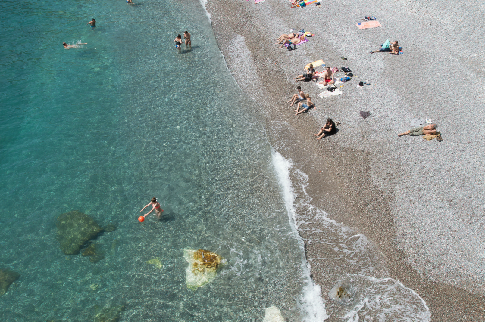 April Beach in Amalfi - Spring on the Amalfi Coast