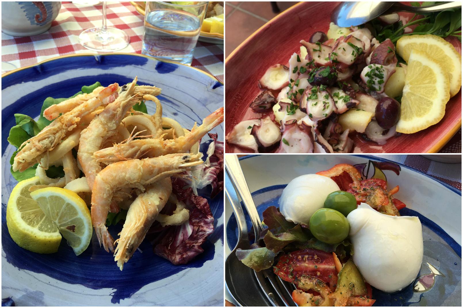 Trattoria da Lorenzo Seafood Restaurant Near Ravello
