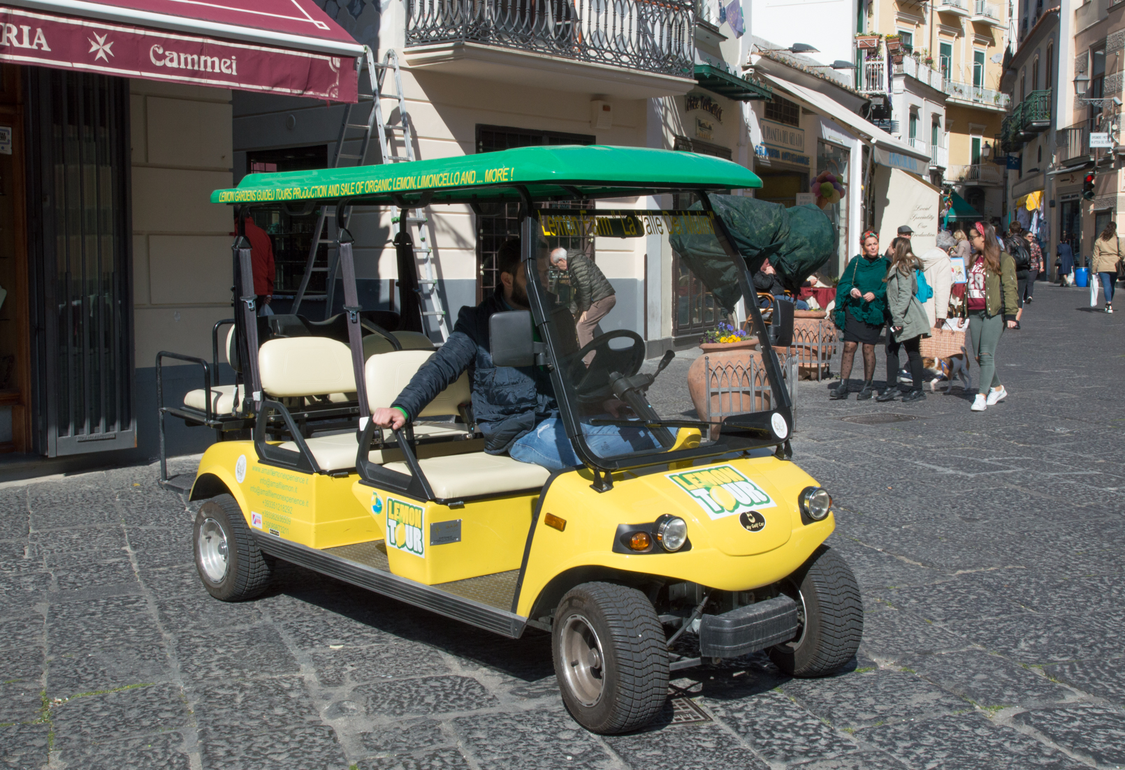 Amalfi Lemon Tour Cart