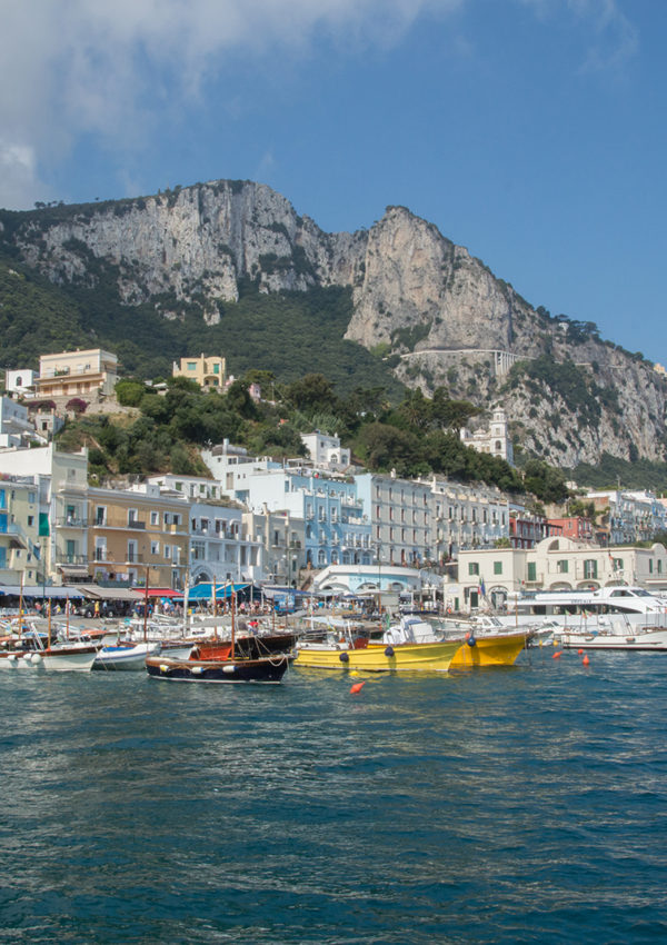 Discover the Art of Capri in Italia! Magazine