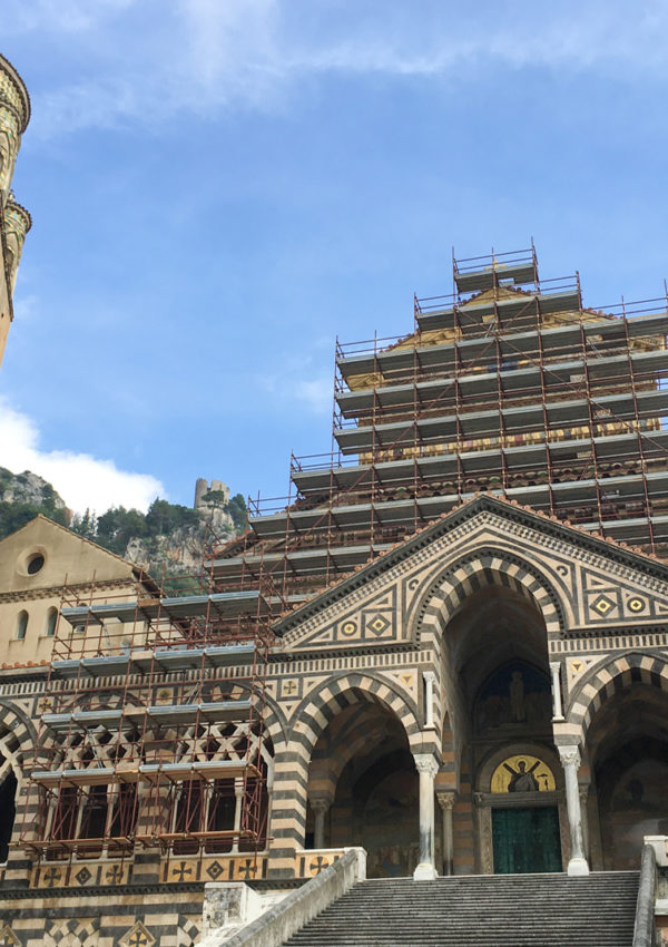 Restoration Begins on the Duomo of Amalfi Facade