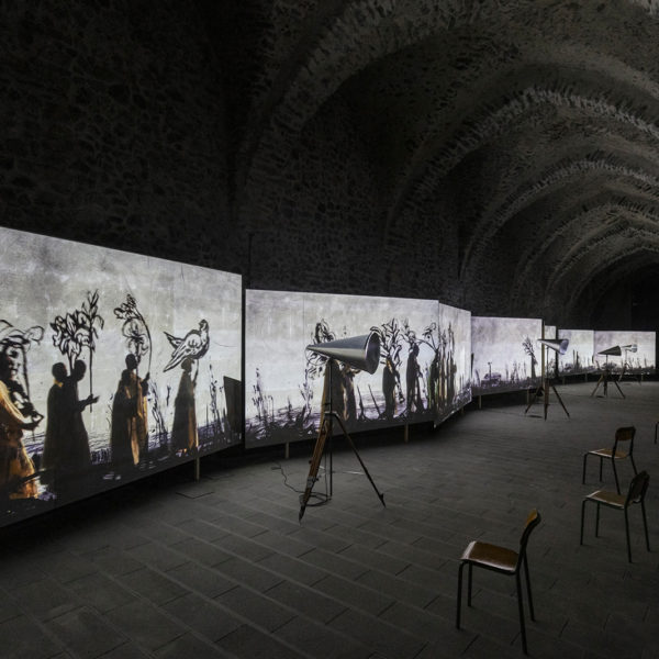 "William Kentridge's ""More Sweetly Play the Dance"" at the Arsenal of Amalfi"