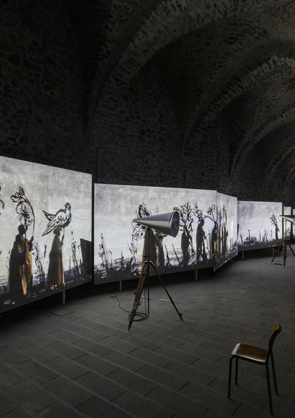 """William Kentridge's """"More Sweetly Play the Dance"""" at the Arsenal of Amalfi"""