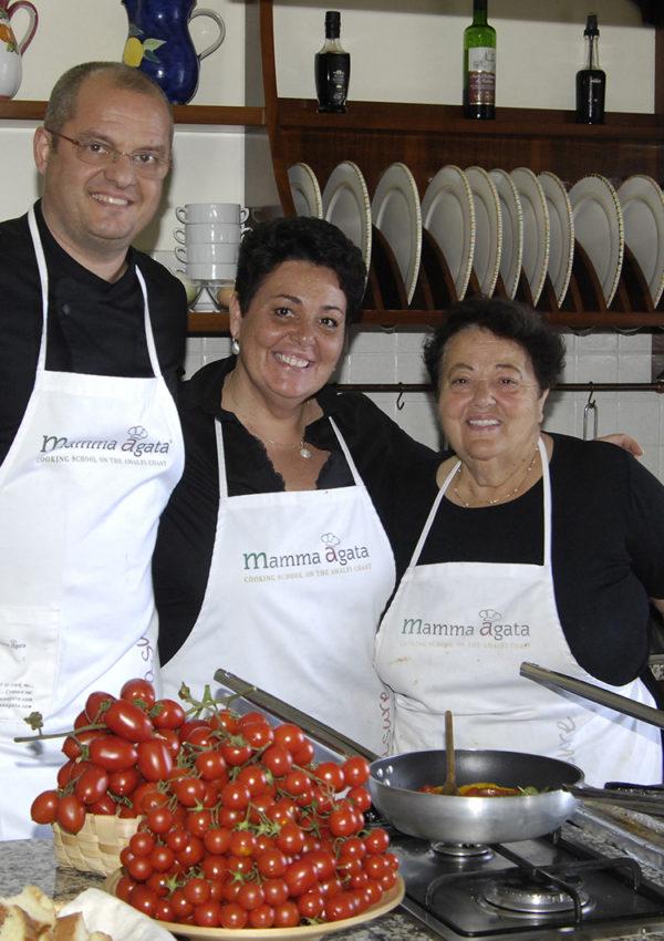 A Taste of Paradise at Mamma Agata's Cooking School on the Amalfi Coast