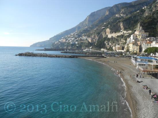 Amalfi Harbor New Year's Day 2013