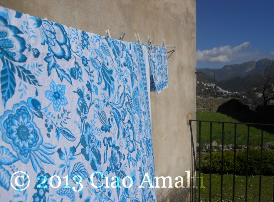 Ciao Amalfi Coast Blog Laundry Time in the Spring