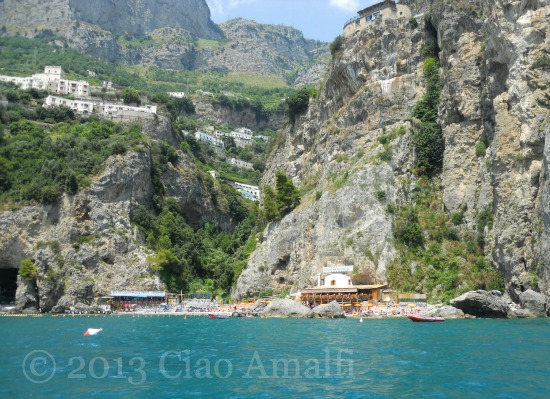 Amalfi Coast Travel Santa Croce Beach Amalfi