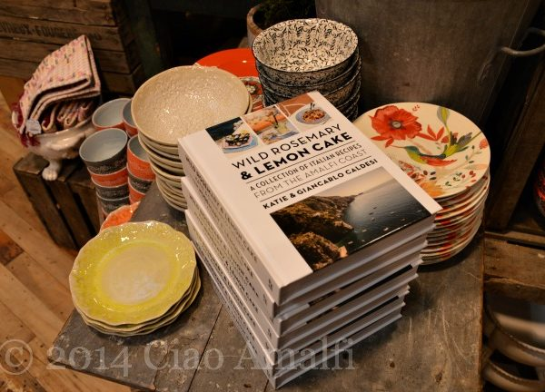 Amalfi Coast Cookbook in London
