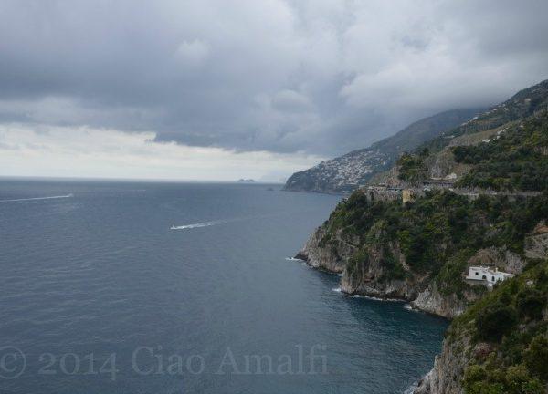Amalfi Coast Travel Rainy View