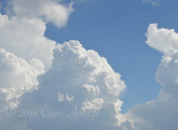 September Storm Clouds Amalfi Coast