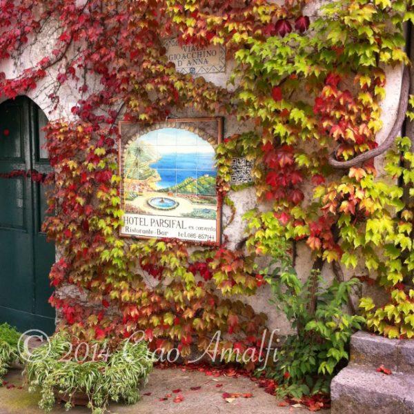 Autumn Colors in Ravello on the Amalfi Coast