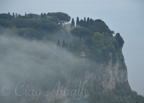 Amalfi Coast Travel Winter Mist Ravello