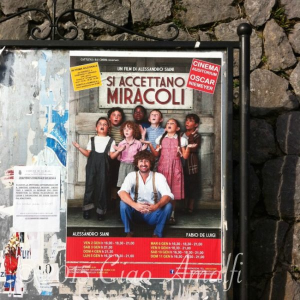 Si Accettano Miracoli Film Amalfi Coast Italy