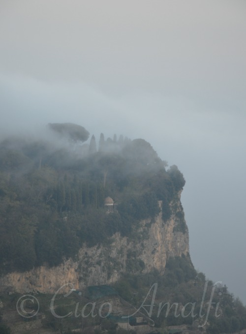 Dramatic Clouds Rolling in Over Ravello