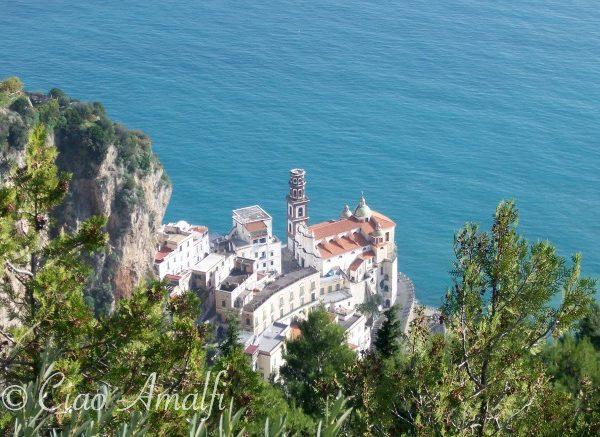 Amalfi Coast Travel Aerial Photo Atrani