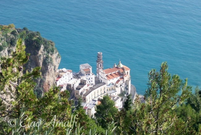 Amalfi Coast Travel Aerial Photo Atrani